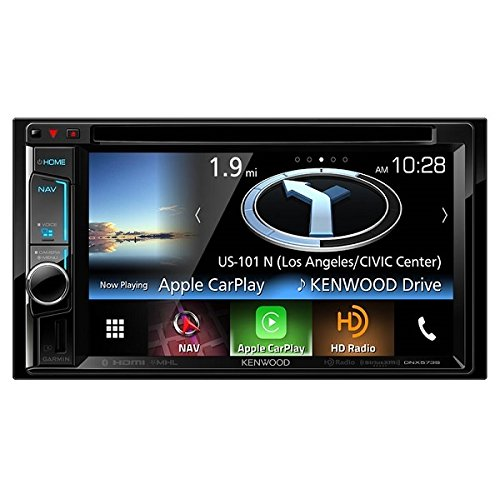 Kenwood DNX573S Double DIN DVD Bluetooth Navigation Receiver by Kenwood