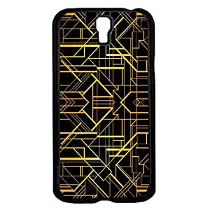 Black and Gold Print Hard Snap on Phone Case (Galaxy s4 IV)
