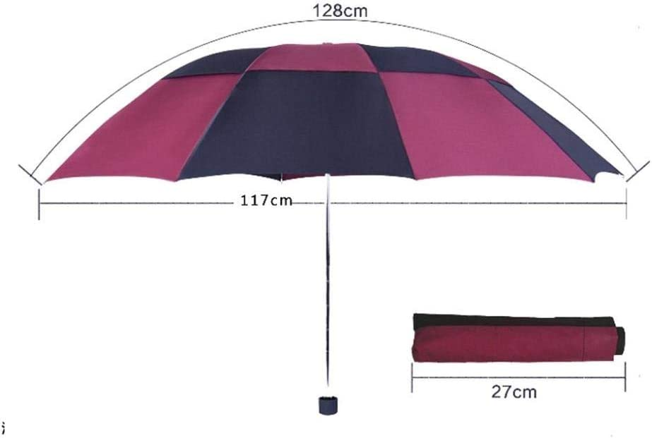 Automatic Folding Umbrella Windproof Umbrella Strongly Reinforced 10 Ribs for Quick Drying and Simple One-Touch Opening