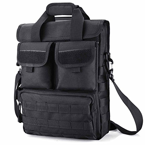Tactical Briefcase Messenger Bag for Laptops