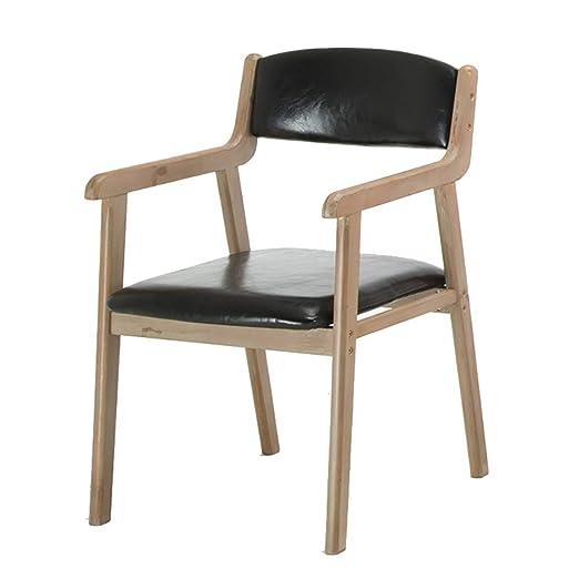 RXBFD Silla de comedor de estilo nórdico, sillones de diseño ...