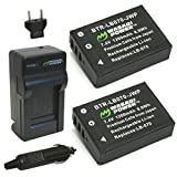This Wasabi Power battery and charger kit includes 2 batteries and one charger with a European plug and car adapter. All items meet or exceed OEM standards and come with a 3-year manufacturer warranty.  Compatible with the following Kodak mod...