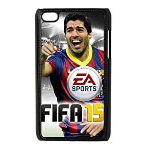 iPod Touch 4 Case Black FIFA 15 3 Sdkxp
