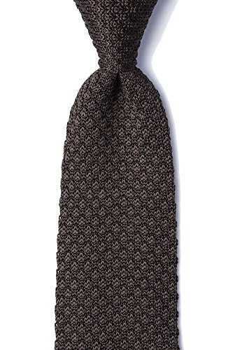 Neckwear Alynn Tie Silk (Men's Hipster 100% Silk Designer Classic Solid 2.75