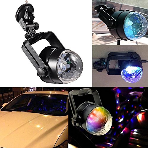 Dealetech Auto Car Disco DJ RGB LED Light Strobe Lighting Stage Party Bar Music Active