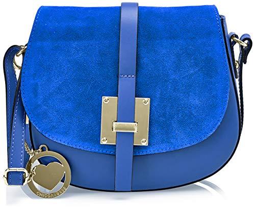 Shoppers Y Chicca Mujer bluette Cbc34005tar Hombro Bolsos De Borse Azul rwrxtAfqEn