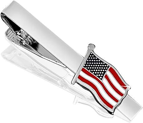 German flag tie clip Germany jewelry Patriotic gift Flag of Germany tie clip Men tie clip National flag tie bar Father gift Wedding jewelry