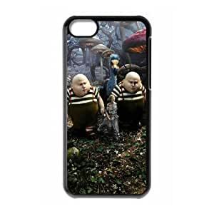 Alice in Wonderland iPhone 5c Cell Phone Case Black as a gift Y4611513