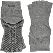 ToeSox Half Toe Yoga/Pilates Toe Socks with Grips