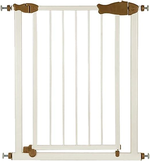 Yuhao Puerta de Seguridad para bebé, Escalera, barandilla, Valla para Mascotas, Barra de Aislamiento, Valla de Puerta: Amazon.es: Hogar