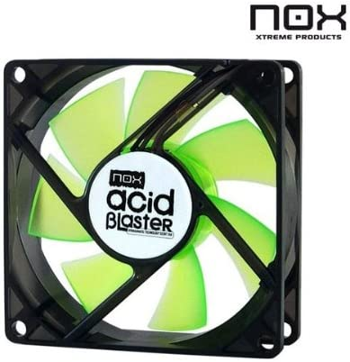Appcesorios - Ventilador caja NOX Acid Blaster 80 mm Rev.2: Amazon ...
