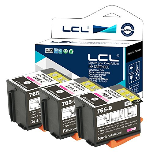 - LCL Compatible Ink Cartridge Replacement for Pitney Bowes 765-9 DM300C DM400C DM425C-ML DM425C-MM DM450C DM475C 3C00 4C00 5C00 6C00 (Red 3-Pack)