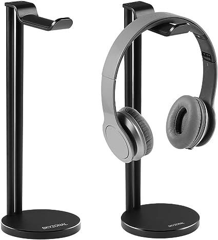 Hot Acrylic Headphone Stand Headset Holder Desk Display Hanger Rack Useful Clear