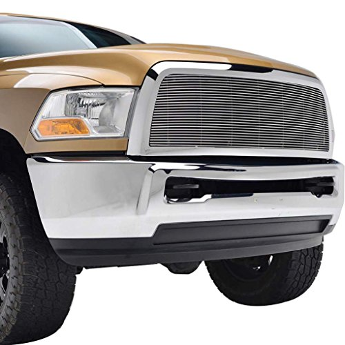 2012 Aluminum Grille (E-Autogrilles 10-12 Dodge Ram 2500/3500 Aluminum Polished 4mm Horizontal Replacement Billet Packaged Grille with ABS Shell (42-0810))