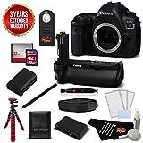 Canon EOS 5D Mark IV DSLR Camera International Version (No Warranty)(Body Only) + Canon BG-E20 Battery Grip Kit