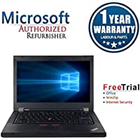 Lenovo ThinkPad T420I 14 Laptop Computer(Intel Core i3-2310M 2.1G,4G RAM DDR3,320G HDD,DVDRW,Windows 10 Professional)(Certified Refurbished)
