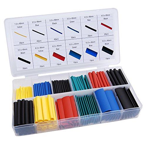 Conext Link 280pcs Heat Shrink Tubing Sleeve Assortment Kit Box -  Conexk Link, HSAK280-1