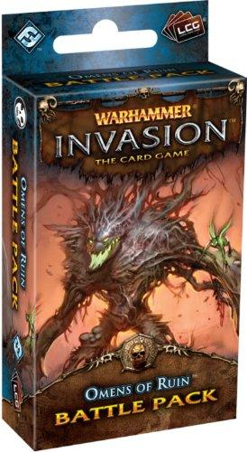 Warhammer Invasion LCG: Omens Of Ruin Battle Pack Warhammer Fantasy Wood Elves