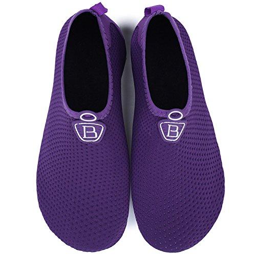 Sock Office Shoes Footwear Barefoot Drying Womens Aqua Water House Centipede Purple Shoes Quick Demon Mens XxAwOnqTt