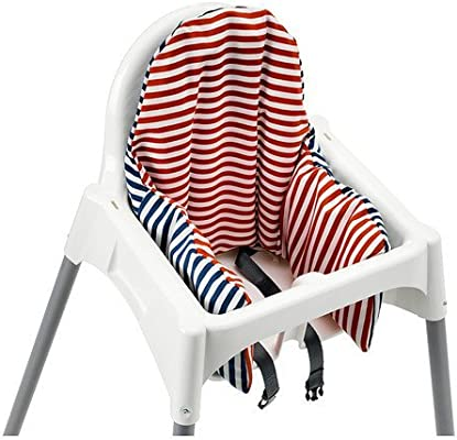 Ikea Antilop Highchair with Tray,safety Belt, White, Silver