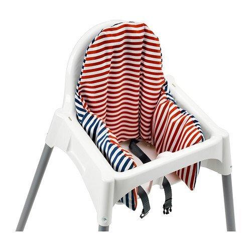 Amazon.com: IKEA ANTILOP Trona con bandeja, cinturón de ...