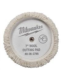"""(7"""")   New   pulido y acabado de corte Pad Kit 49   36   2783,2784,2785 para Milwaukee M18 Enceradora (2738)"""