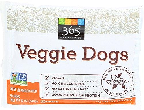 365 Everyday Value, Veggie Dogs, 9 ct, (Frozen)
