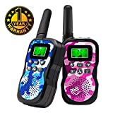 Walkie Talkies For Kids , Range Up to 3 Miles With Backlit LCD