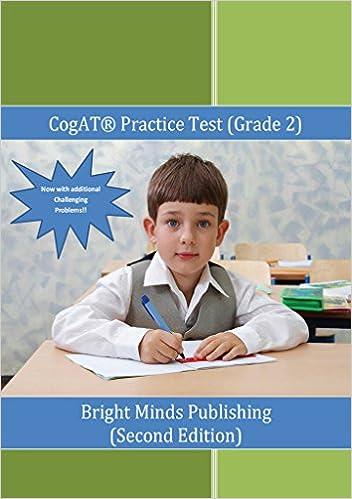 Amazon cogat practice test grade 2 ebook bright minds cogat practice test grade 2 kindle edition fandeluxe Gallery