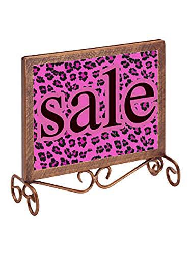 Boutique Cobblestone Countertop Sign Holder - 7 1/4