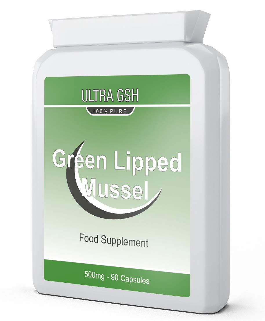 Ultra Green Lipped Mussel 500mg 90 Capsules for Maintaining Joint Health and Mobility