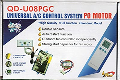 Universal A/C Control System For Ductless Mini-Split Air Conditioners