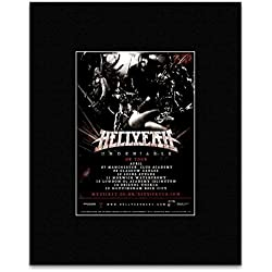 Hellyeah - Undeniable UK Tour 2017 Mini Poster - 25.4x20.3cm