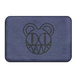 Radiohead Ventilador concierto Logo Cool diseño Bienvenido Mat Felpudo al aire libre Vintage