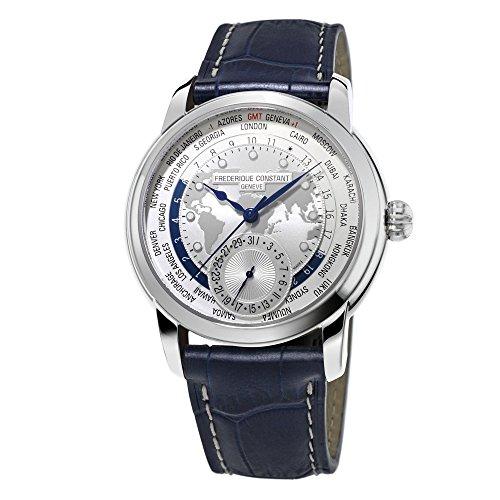Men's Frederique Constant Manufacture Worldtimer Watch FC-718WM4H6