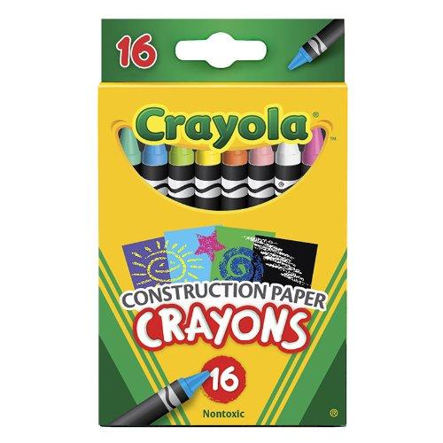 CRAYOLA LLC CRAYOLA 16 CT CRAYONS FOR