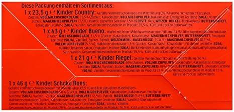 Kinder Mix de P/âques Peluche Agneau Noir avec Kinder Sp/écialit/é 133g