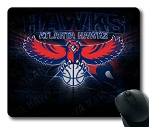 Atlanta Hawks Theme Rectangle Mouse Pad by eeMuse