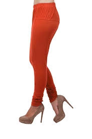 VANSHIKA Women's Maroon Churidar Leggings Pack of 2  Ethnic Wear