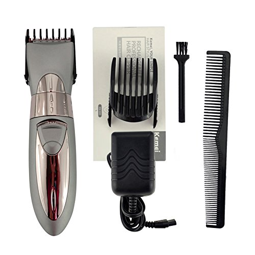 ckeyin new arrival rechargeable waterproof hair clipper beard import it all. Black Bedroom Furniture Sets. Home Design Ideas