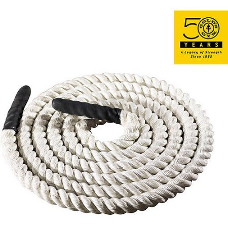Extreme 20' Training Rope by Gold's Gym to Enhance Flexibility , Tighten & Tone by Golds Gym