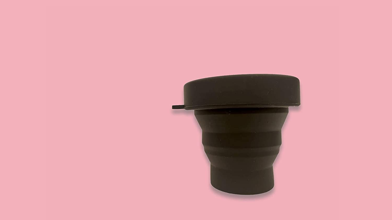 .Cup Coppa Doppia Taglia Coppetta Mestruale Super Morbida Kit Mestruale Con Sterilizzatore Portatile Morbido Silicone Medicale FDA Risparmio Ed Igiene Intima.