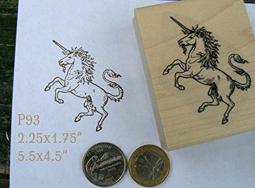 P93 Unicorn rubber stamp