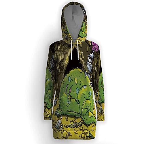 Dragon,Tunic Hoodies ()