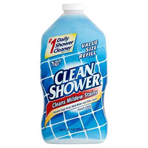PACK OF 6 - Clean Shower Daily Shower Cleaner Refill, 60 fl oz
