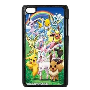 JenneySt Phone CasePokemon Pikachu partern FOR IPod Touch 4th -CASE-9