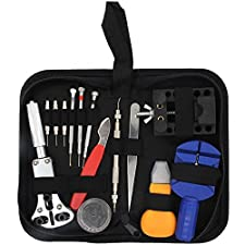 YJWB Portable Watches and clocks Repair Kit Watch Open Detachable Spring Lever Watch Repair Kit 144 Combination Watches and watch Tool se