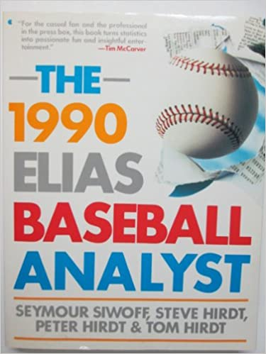 Book The 1990 Elias Baseball Analyst