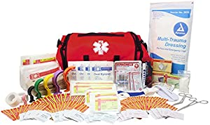 Dixie EMS Fully Stocked 147 Piece First Responder On Call Kit
