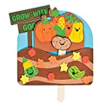 Bargain World Faith Fall Growing in God Pop-Up Craft Kit (With Sticky Notes)